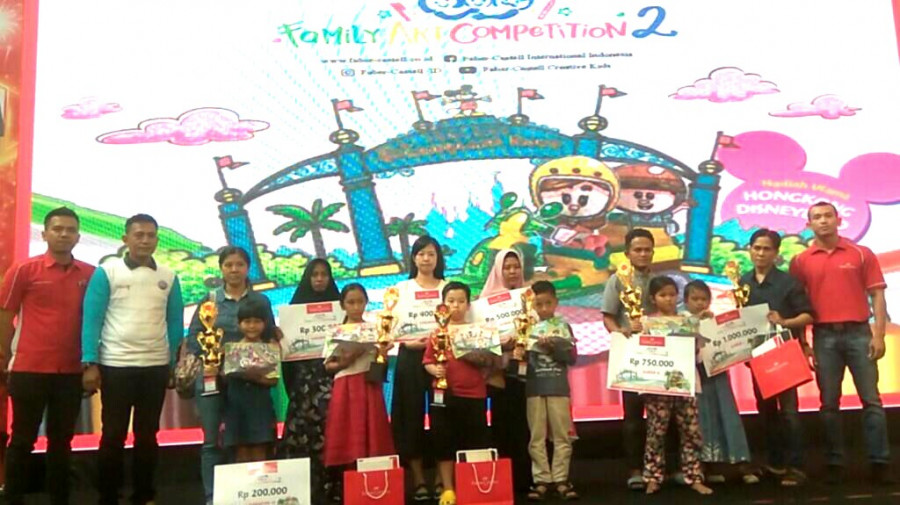 Berhadiah Ke Hongkong Faber Castell Family Art Competitions Siap Di