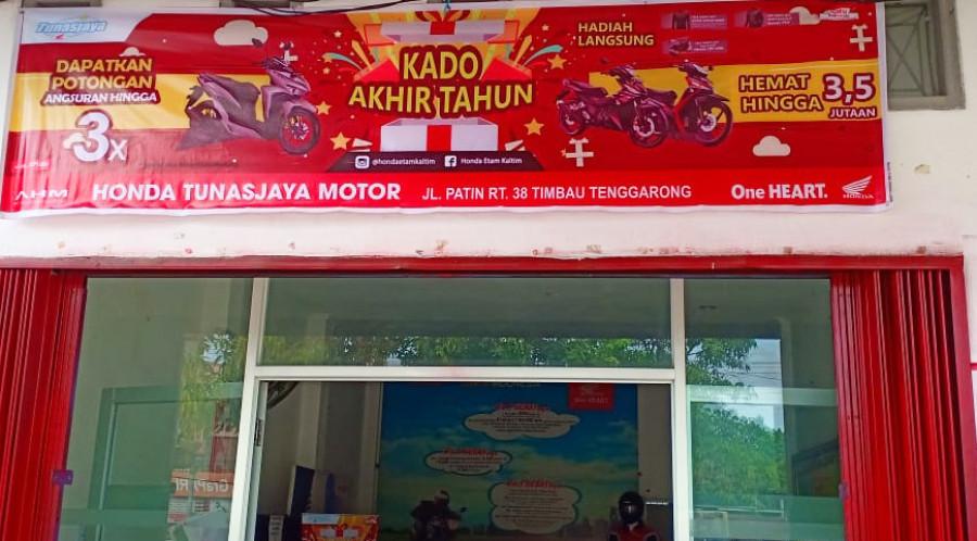 Promo Akhir Tahun Honda Tunas Jaya Tenggarong Beri Kado Spesial