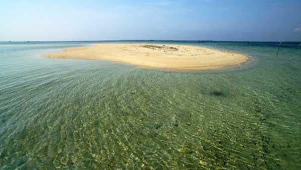 Destinasi Wisata Bontang Pulau Segajah Diubah Seperti Maldives